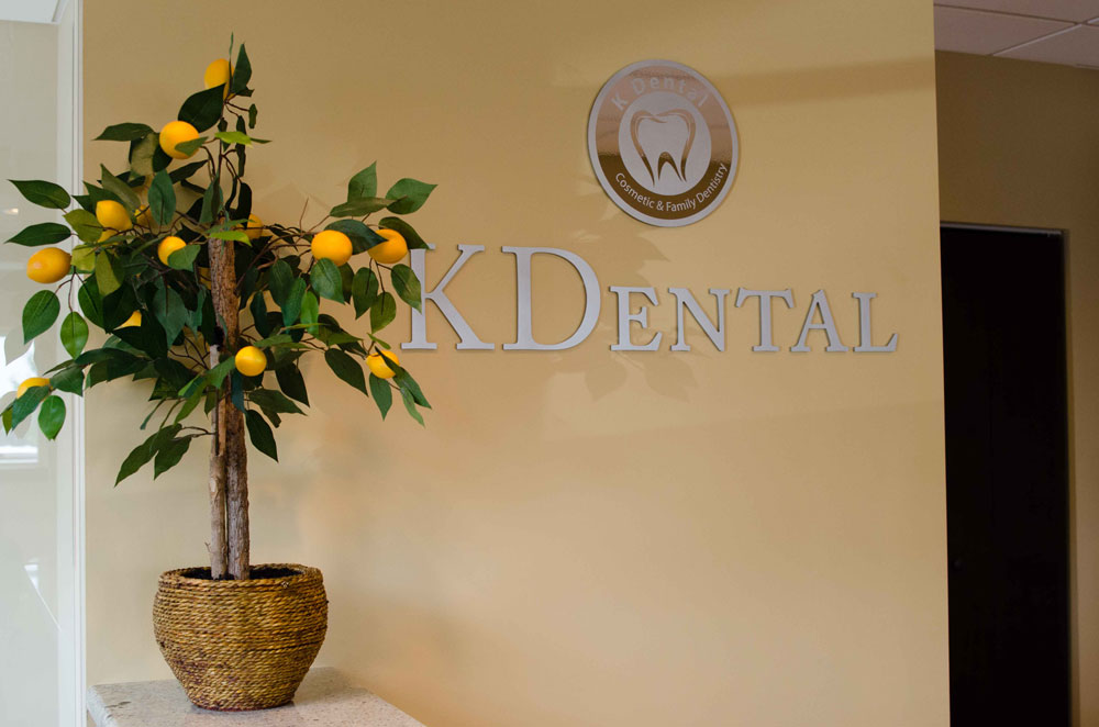 K Dental Interior Signage
