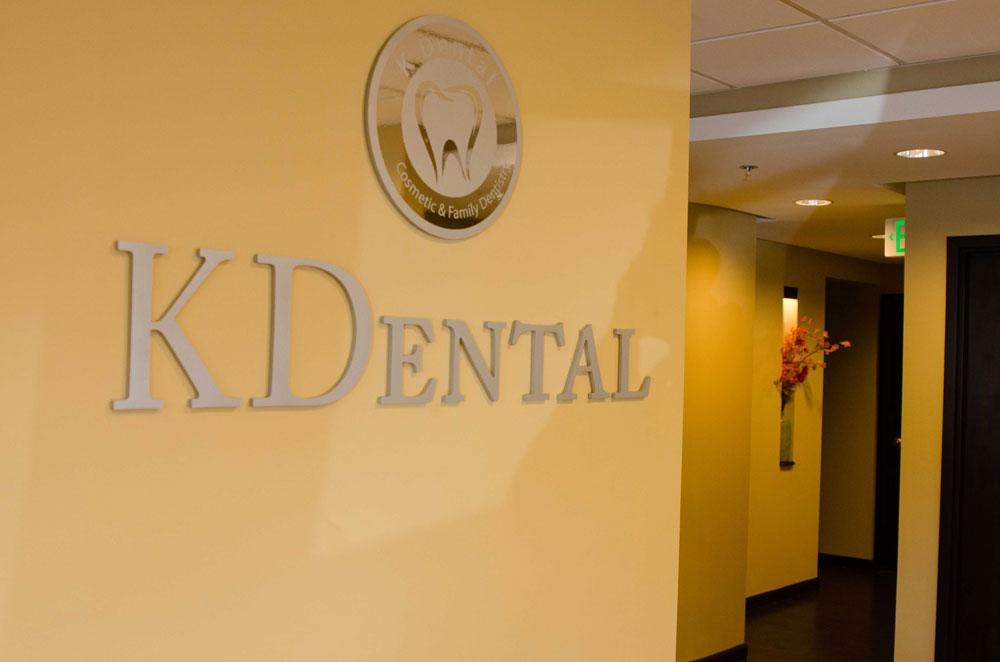 K Dental Wall Signage